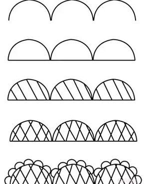 7个步骤教你画蕾丝花边美甲